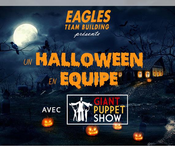 Giant Puppet Show - Un Halloween en équipe