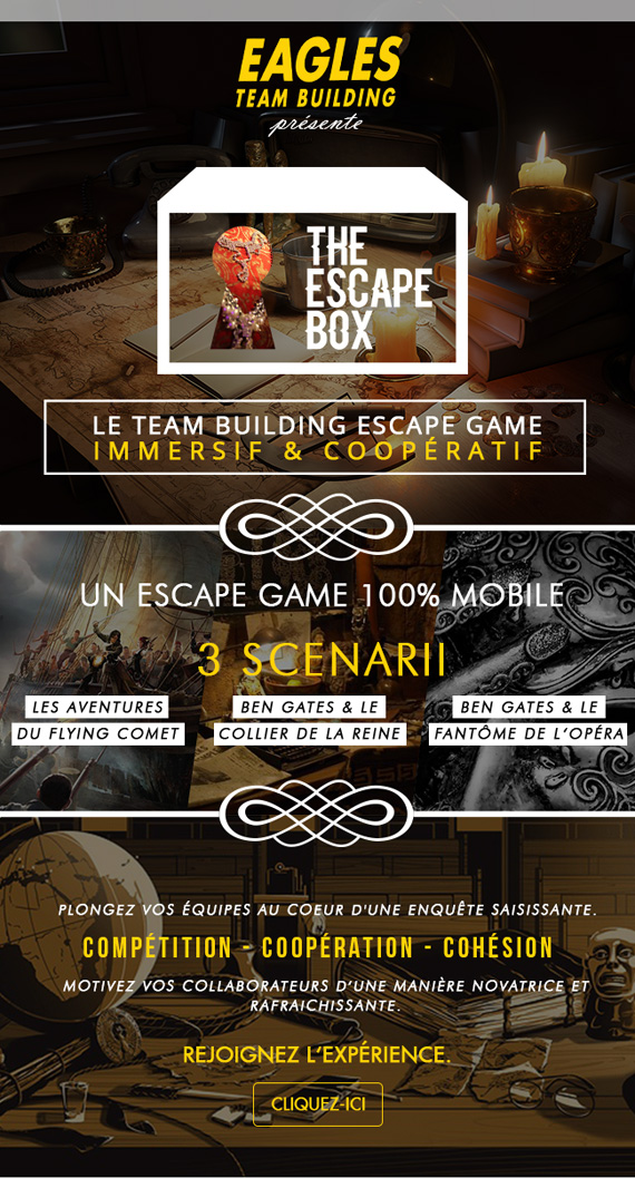 The Escape Box - Le Team Building Escape Game immersif & coopératif