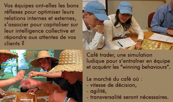 Café Traders - Négociez le café en équipe !