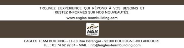 Des nouveautés chez Eagles ! RSE et Réalité Virtuelle