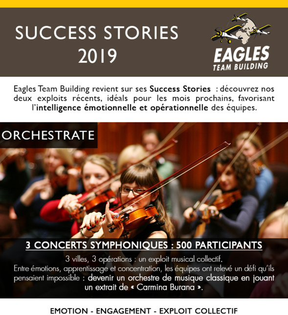 Success Stories 2019 - Eagles Team Building