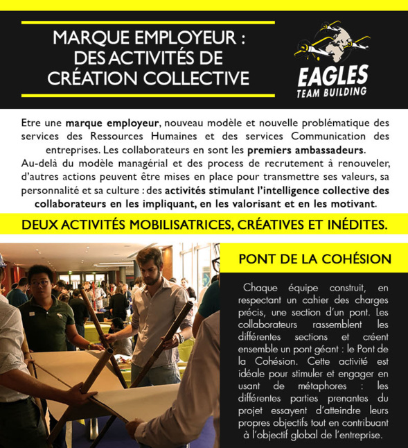 Marque employeur : Des activites de création collective