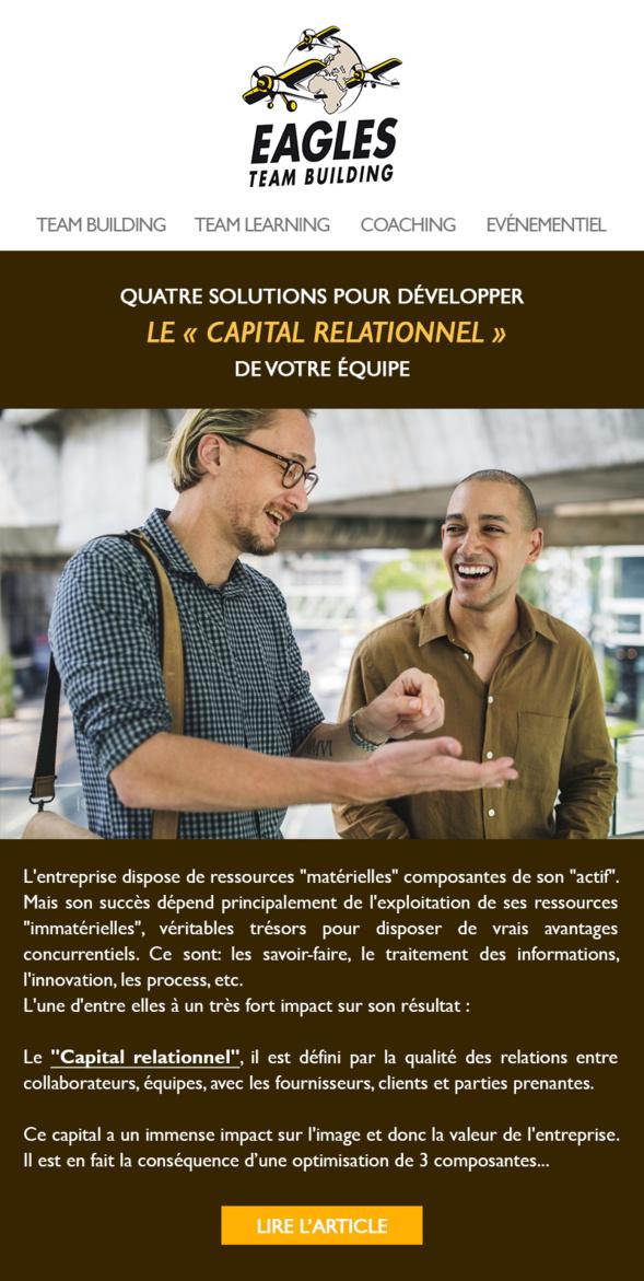 Comment développer le capital relationnel de votre équipe?