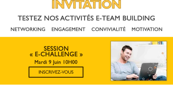 Invitation e-showcase - Nouvelle activité à distance