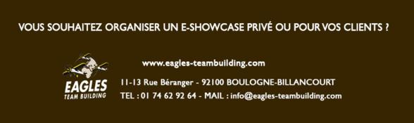 Invitation E-showcase - Découvrez nos team buildings virtuels