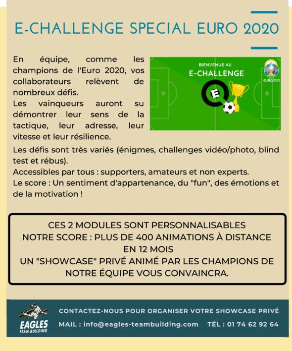 2 activites ludiques virtuelles pour célébrer l'Euro 2020