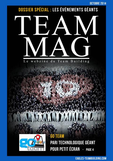 The Team Mag - Webzine Team Building : Les événements géants