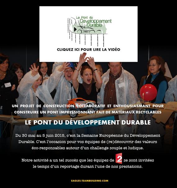 Le Pont du développement durable : Construction collaborative