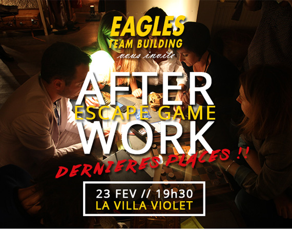 Invitation After work - 23/02 - Escape Game
