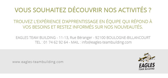 "Eagles Team Building vous invite au salon ""Solutions RH 2017"""