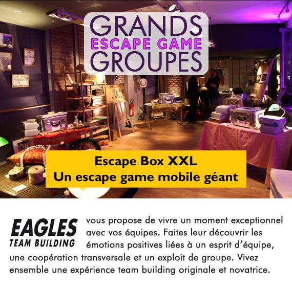 Escape Game mobile XXL - Spécial Grands Groupes