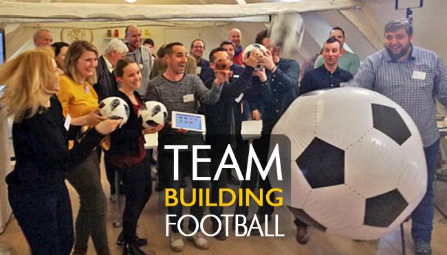 Quickfire Football : une activité ludique combinant technologie digitale, humour, esprit d'équipe et performance autour du Football.
