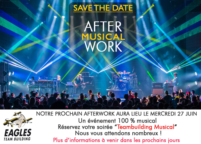 Save the date : Afterwork musical