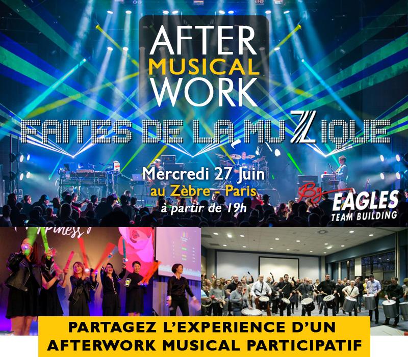 Afterwork musical - mercredi 27 Juin : Préparez-vous pour Faites de la musique