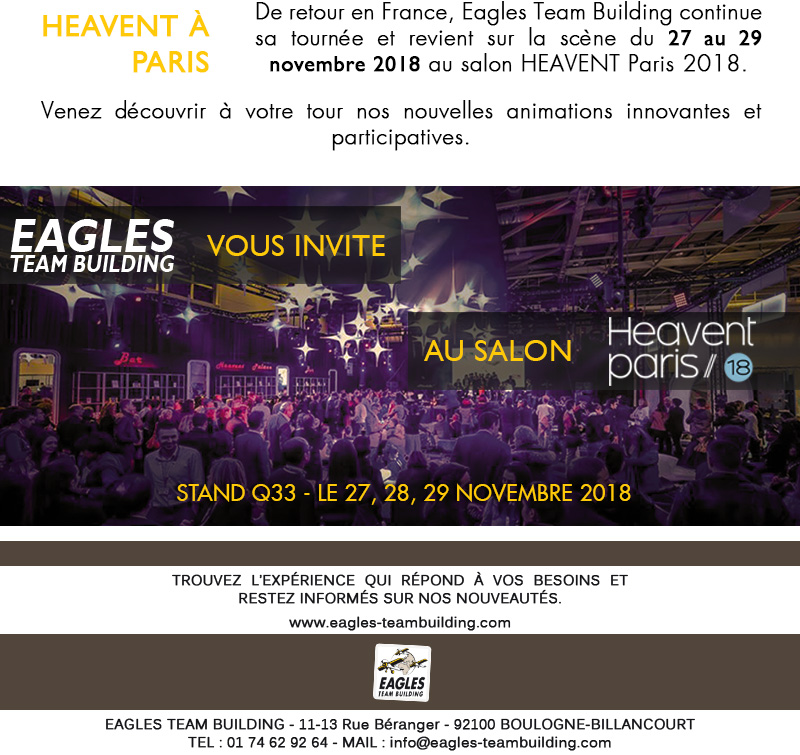Eagles Team Building fait son show !