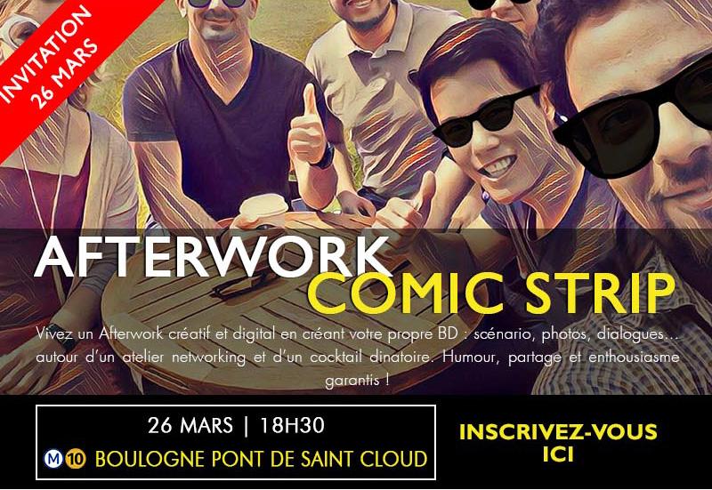 Invitation Afterwork le 14 et 26 Mars - Découvrez deux activités