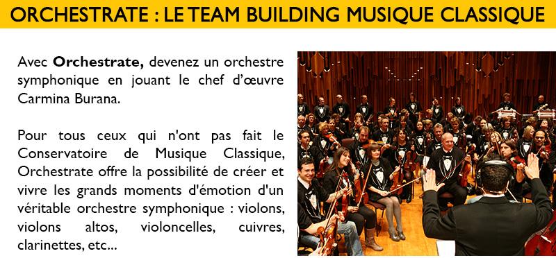 Musique et cohésion d'équipe