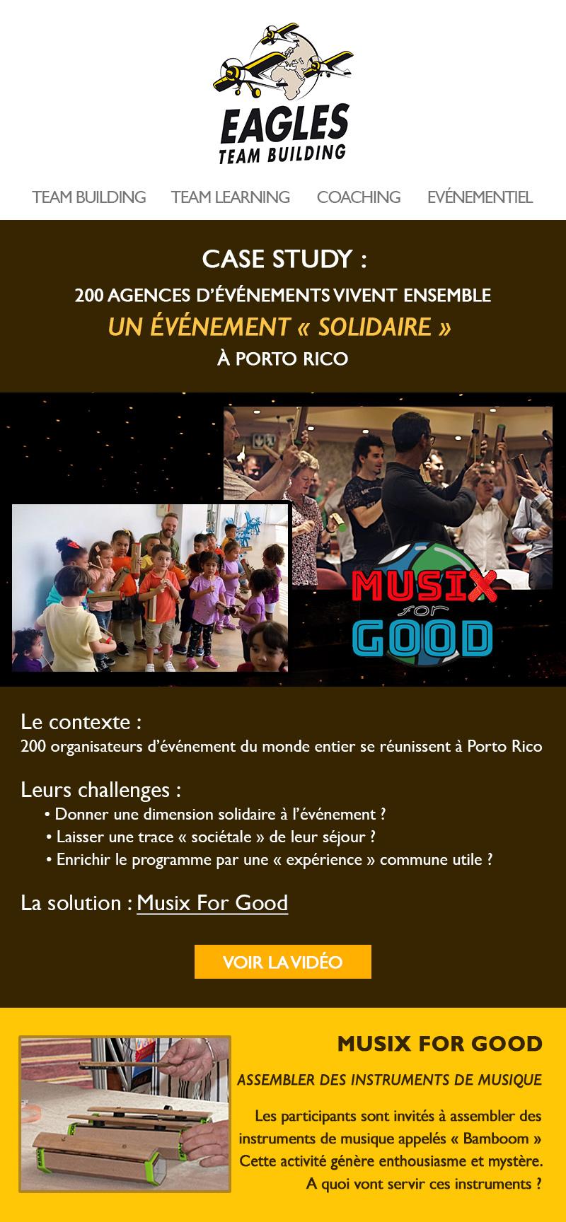 Vivez un événement solidaire - Musix For Good