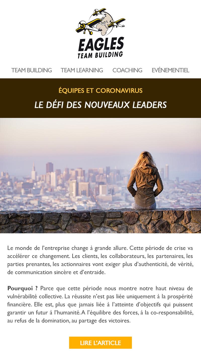 Le défi des nouveaux leaders