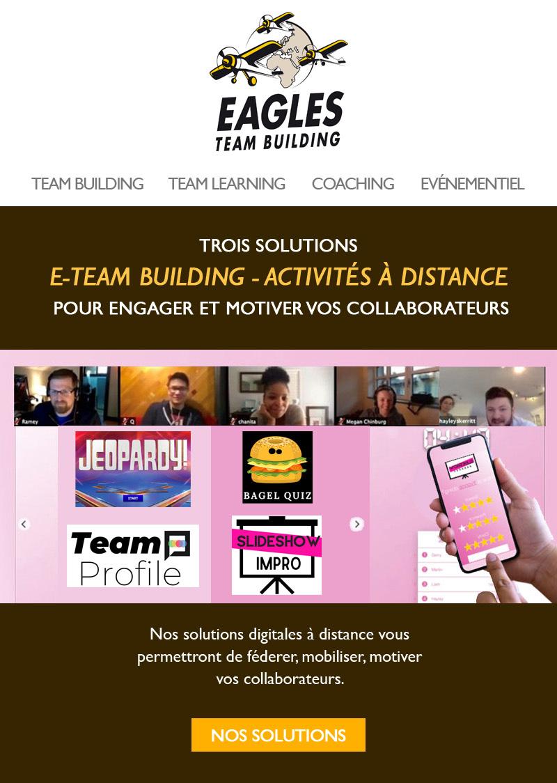E-Team Building - activités à distance : engagez et motivez vos collaborateurs