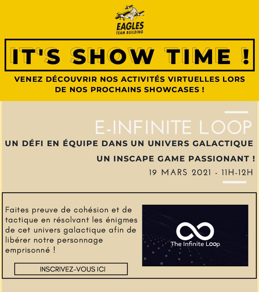 It's Showtime, nous vous invitons à nos E-showcases de Mars