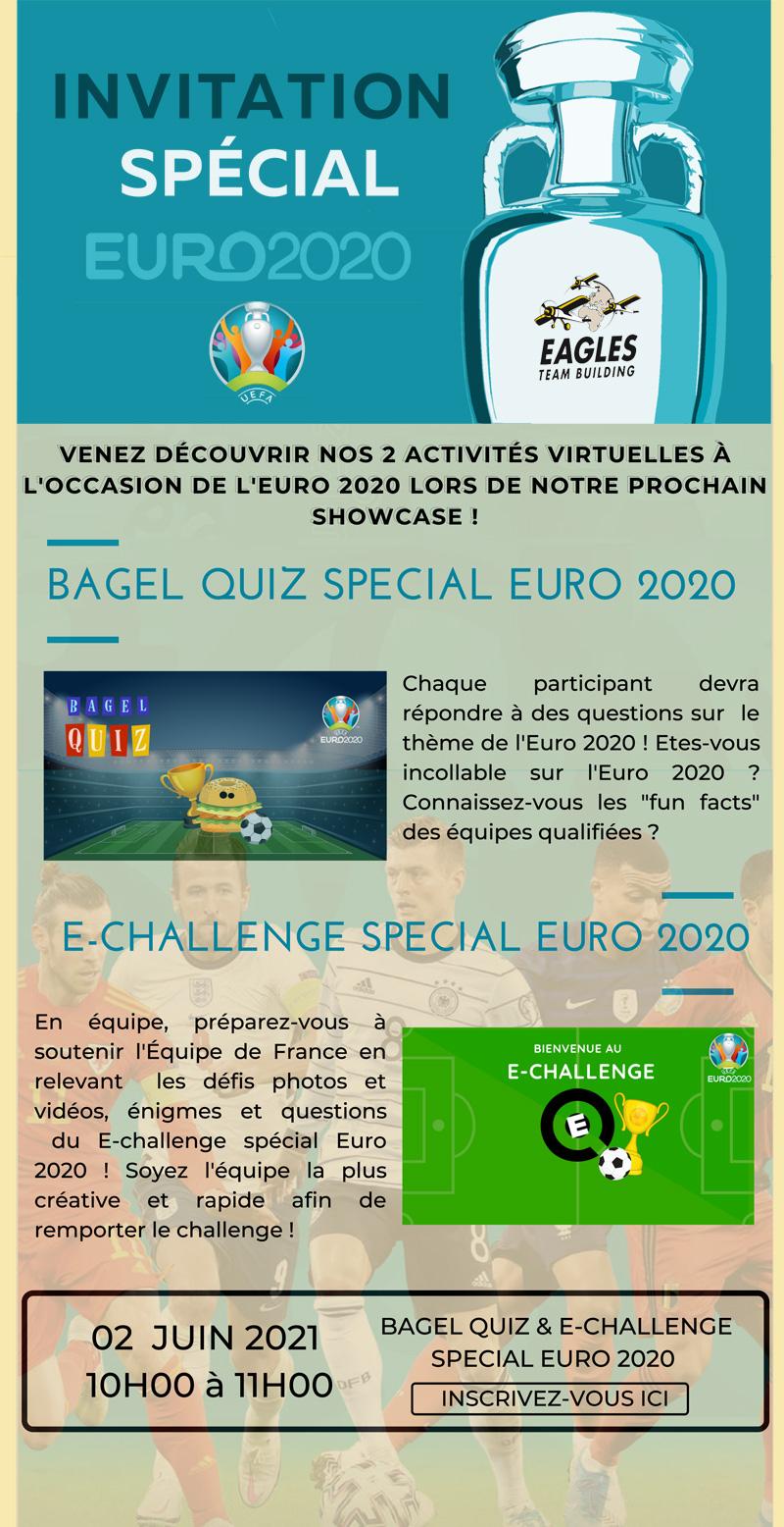 Invitation - Showcase spécial Euro 2020