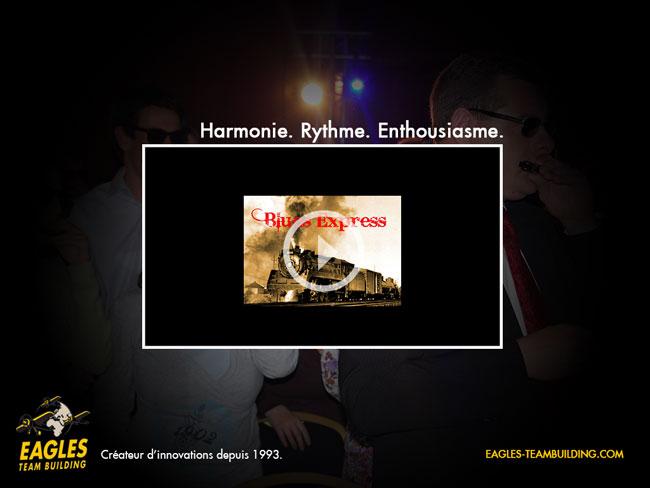 Blues Express : Harmonie, Rythme, Enthousiasme