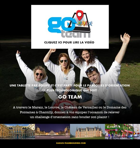 Go Team : Le parcours d'orientation le plus technologique qui soit