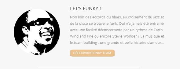 Orchestrate, Blues Express, Funky Team - Team Building