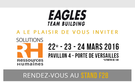 Eagles Team Building vous invite au salon Solutions RH 2016