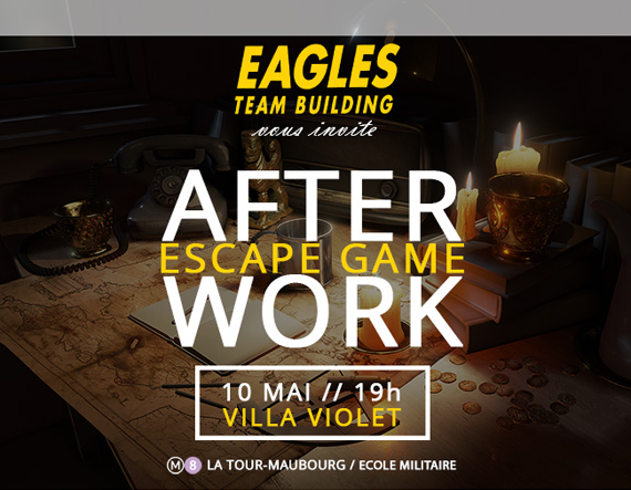 Invitation After Work - Mardi 10 Mai - Escape Game