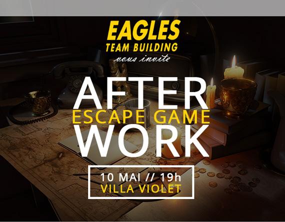 Invitation After Work - Mardi 10 Mai - Escape Game