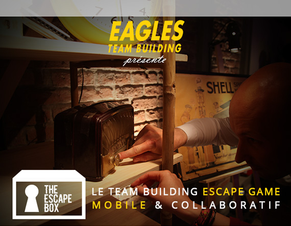The Escape Box - Le Team Building Escape Game mobile & collaboratif